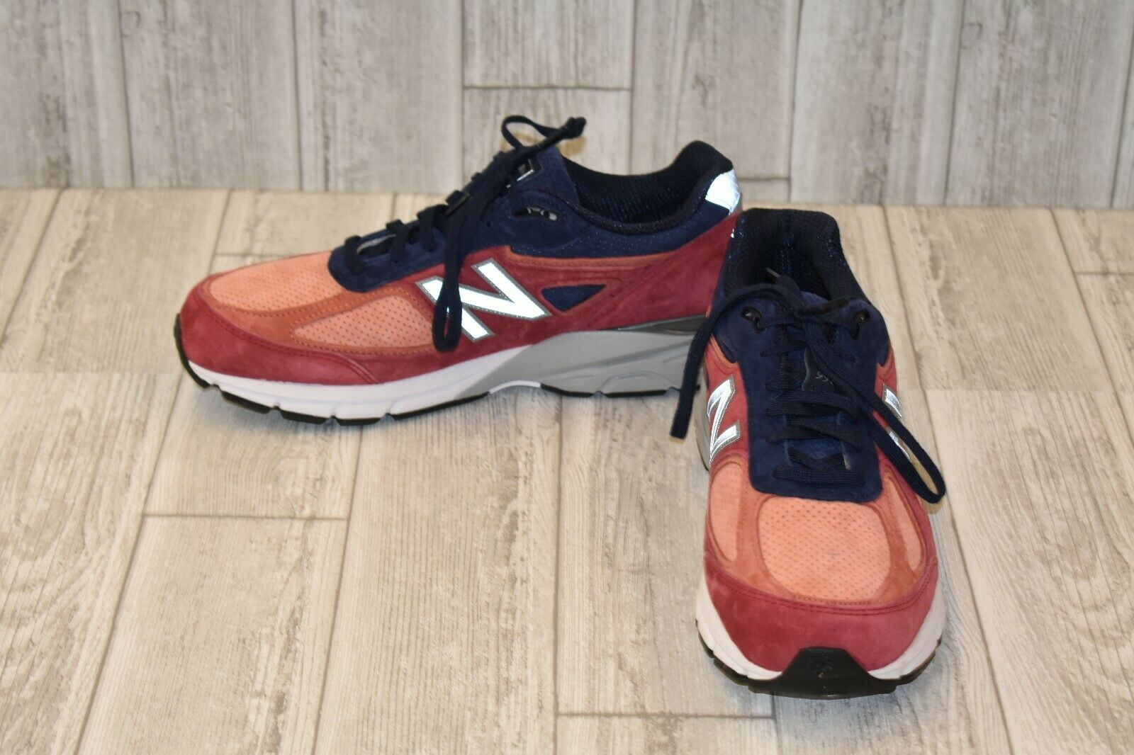 New Balance M990CP4 Running shoes - Men's Size 12.5D - - - pink Navy 584188