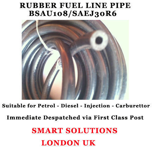 5 mm Reforzado De Goma Manguera De Combustible Motor Aceite Diesel Gasolina Sin Plomo Tubo De Línea