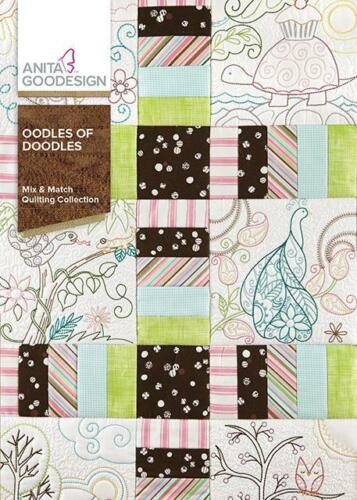 Oodles of Doodles Anita Goodesign Embroidery Machine Designs CD