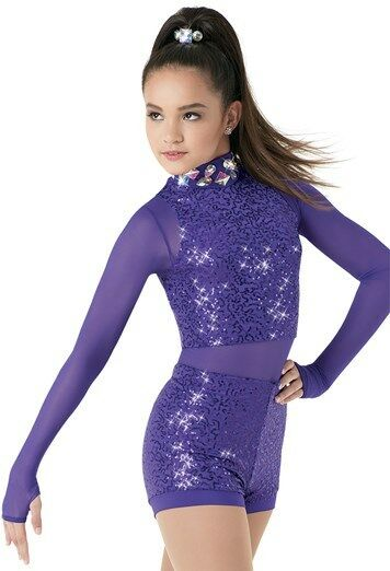 NEW TWIRLING DANCE BALLROOM  DRESS BATON COMPETITION ICE SKATING COSTUME