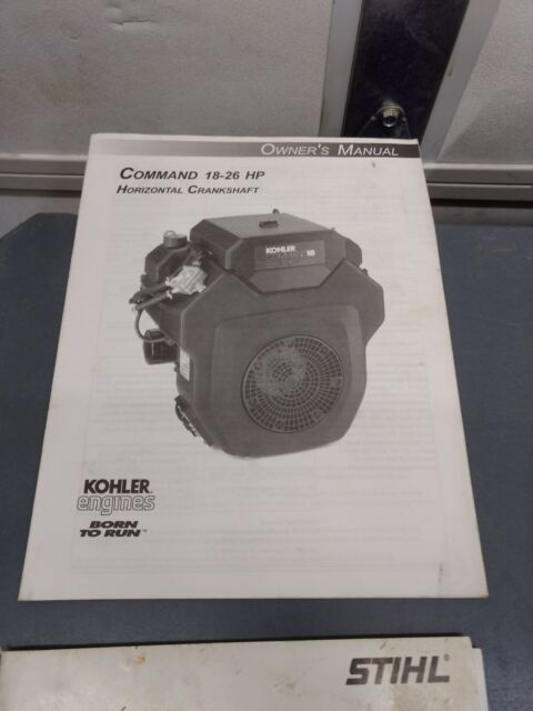 kohler engines owners manual command 18 26 hp horizontal crankshaftkohler engines owners manual command 18 26 hp horizontal crankshaft