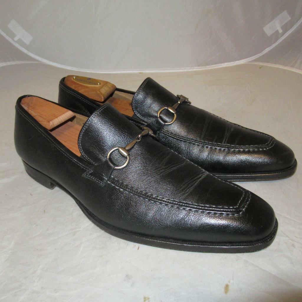 Mezlan Tours Bit Loafer shoes Black Mens Size 11.5 M