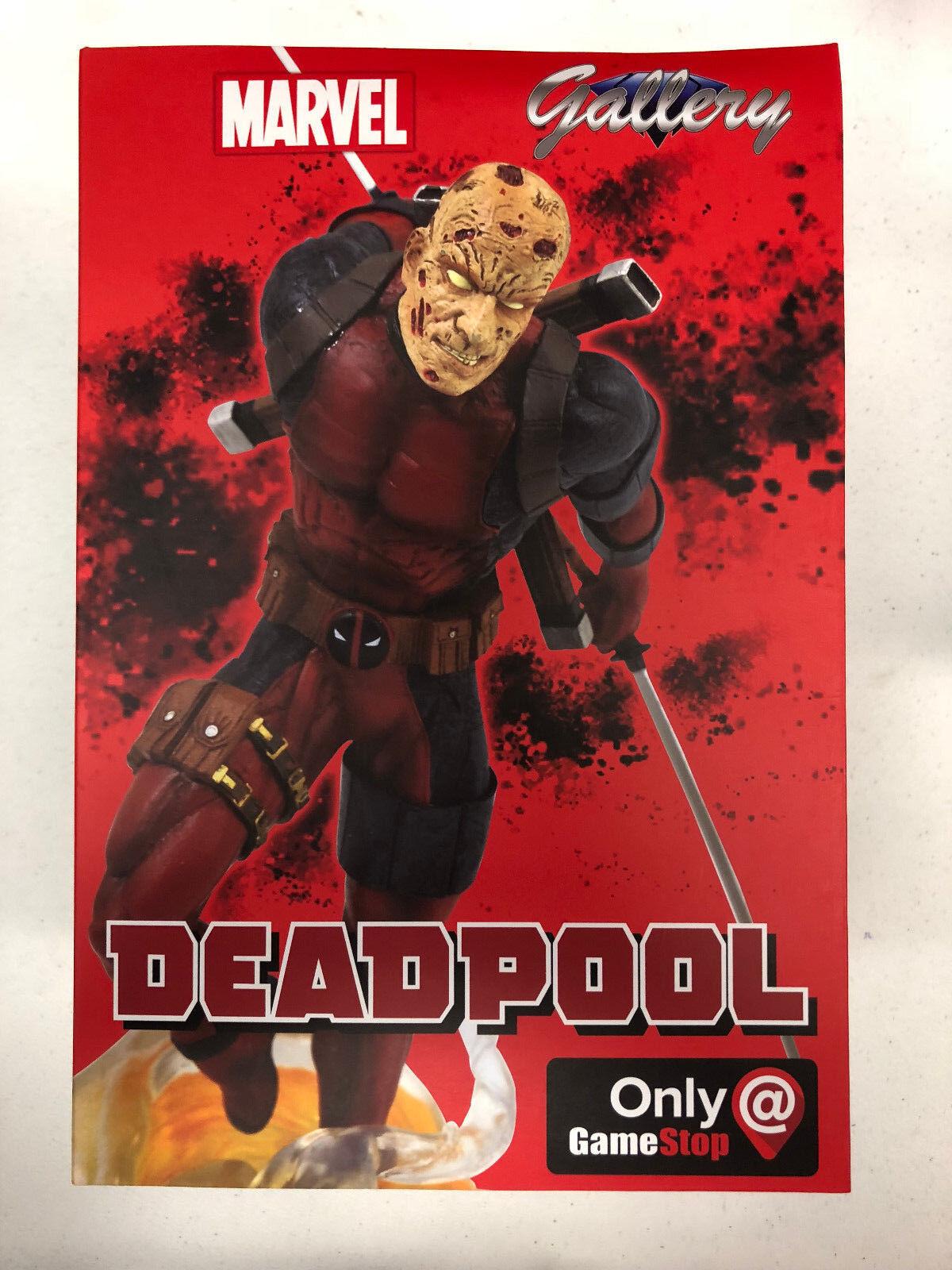 Marvel Deadpool Unmasked 9  PVC Figure GameStop Exlusive Diamond Gallery