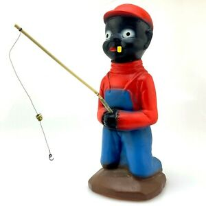 Vintage-H-P-Moyer-Ceramics-Fisherman-Boy-Figurine-1940-039-s-9-034-Tall-Stamped