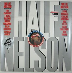 WILLIE NELSON Half Nelson LP 1985 COUNTRY (SEALED/UNPLAYED)