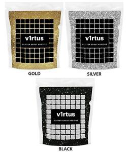 GLITTER-Stucco-Piastrelle-ADDITIVO-ANTI-MUFFA-Mosaico-Piastrelle-Bagno-Cucina-Pavimento