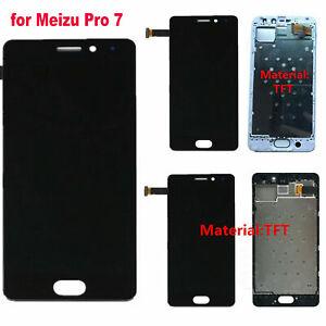 Per-MEIZU-Pro-7-Display-LCD-Touch-Screen-Digitizer-Vetro-Schermo-Telaio-Frame