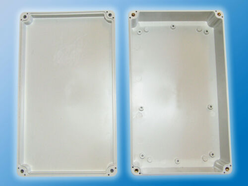 KunststoffgehäuseWandhalterABS-KunststoffHellgrau200x120x55mm