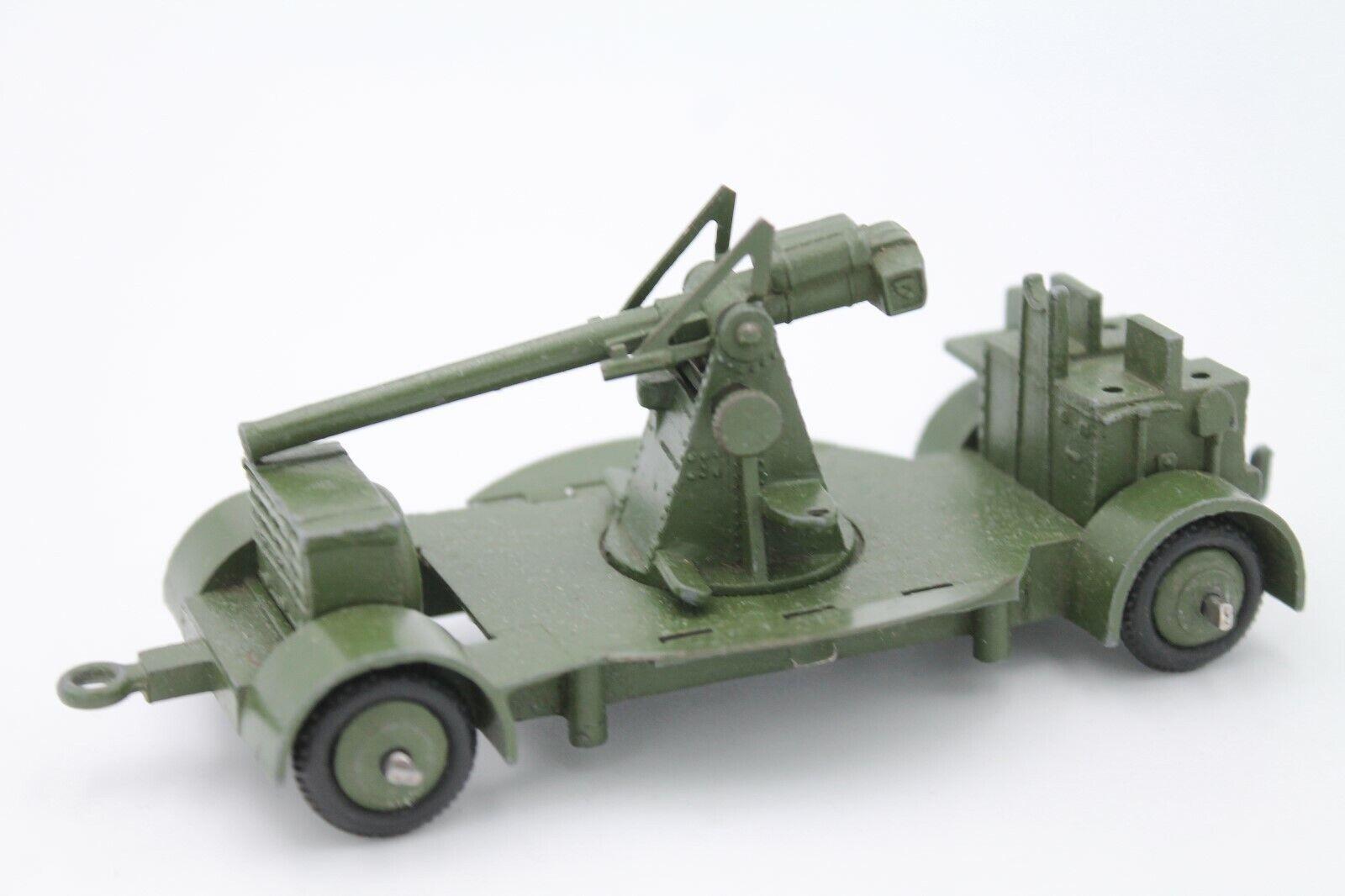 DINKY SpielzeugS 161  ANTI AIRCRAFT GUN   ORIGINAL MECCANO  PREWAR