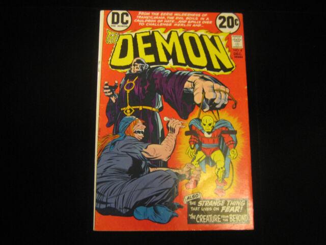 The Demon #4 (Dec 1972, DC) MID GRADE