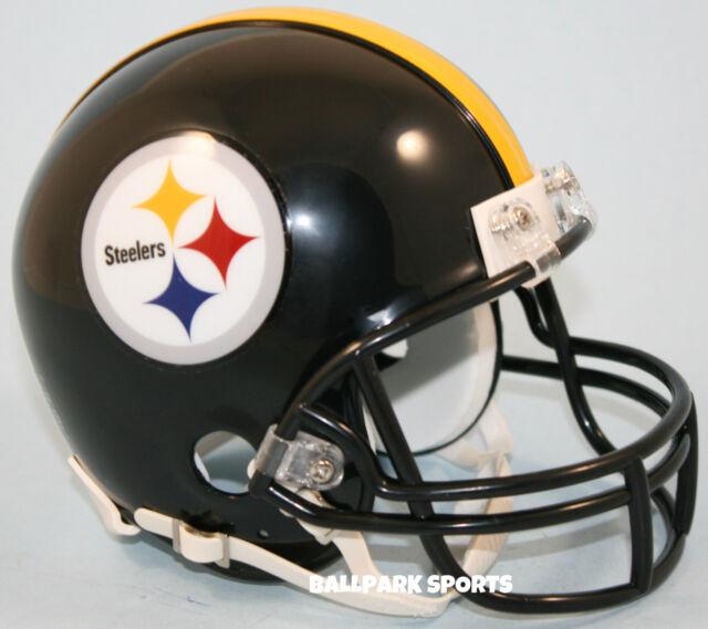 d99750b3230 Pittsburgh Steelers -riddell Vsr4 Mini Helmet for sale online
