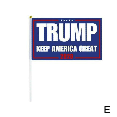 Trump 14*21cm Flag Republican 2020 Keep America Great President Donald HOT SALE