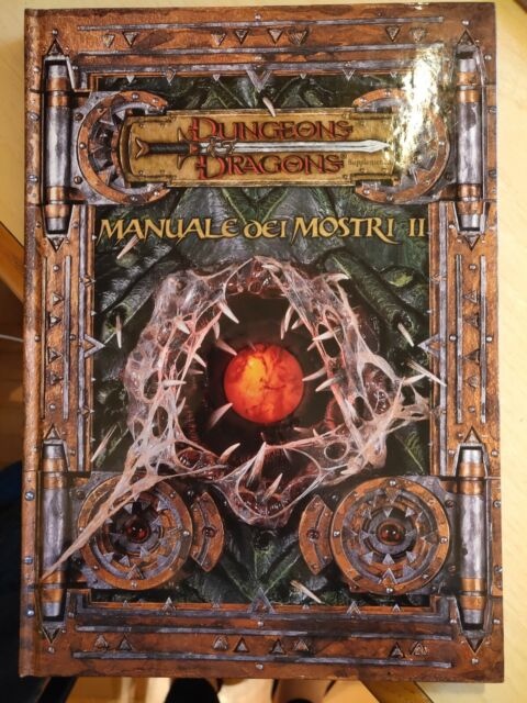 Manuale dei Mostri II - Dungeons&Dragons Supplemento (IN ITALIANO)