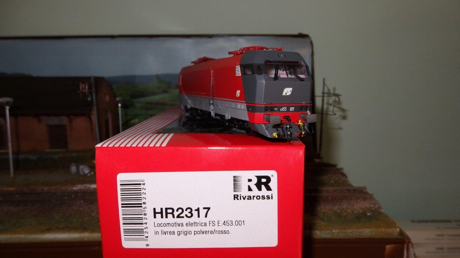 RIVAROSSI HR2317 E453.001 Livree Rot,Kabine dunkelgrau, Rahmen hellgrau  | Adoptieren