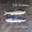 Salt-water-Realscale-trolling-lures-sea-fishing-tuna-bass-herring-mackerel-bait thumbnail 13