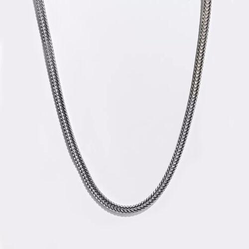 Hommes Femmes 10k or Jaune Herringbone Chain Herringbone Collier 8 mm
