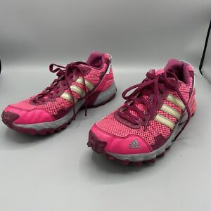 Details about Adidas Women's Thrasher 1.1 Pink Trail Running Shoes Size 9 C76331 Excellent!