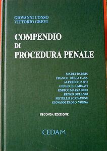 G-Conso-e-V-Grevi-Compendio-di-Procedura-Penale-Ed-CEDAM