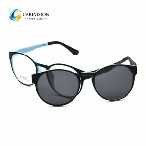 eea32d9160 Image is loading Magnet-Clip-on-Sunglasses-Outdoor-Polarized-Driving-Glasses -