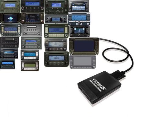 USB AUX SD MP3 CD Wechsler Interface passend für original Radio Seat 12 Pin