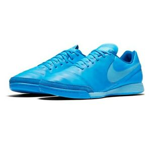 big sale 5cf10 cbbd8 Image is loading Nike-Tiempox-Genio-II-Leather-IC-819215-444-