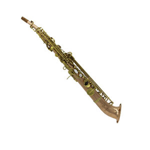 eastern music copper body j type curved bell soprano saxophone saxello on sale ebay. Black Bedroom Furniture Sets. Home Design Ideas