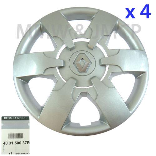 Neuf Roue Moyeu Bouchon Enjoliveur 40.6cm Renault Master 3 2010-403150037R X 4