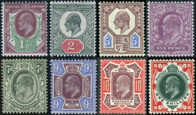 1911-13 Somerset House Sg 287-Sg 314 Good Used Condition Single Stamps