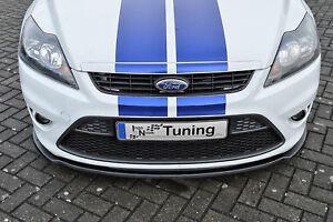Sonderaktion-Spoilerschwert-Frontspoiler-ABS-Ford-Focus-ST-DA3-MK2-07-10-mit-ABE