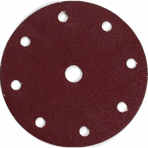 Makita 10 pièces papier abrasif ø150 mm Velcro-Fermeture Korn 180; p-37895