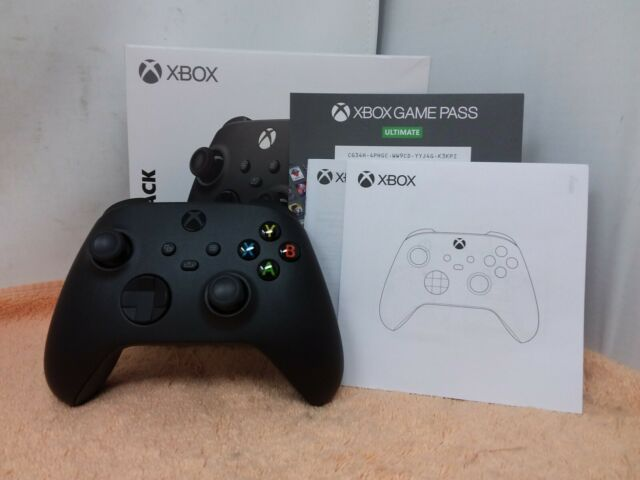 Microsoft Wireless Controller for Xbox Series X/S - Carbon Black - USED