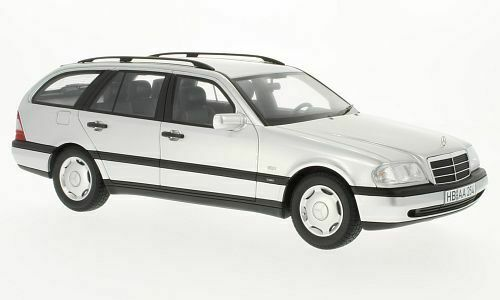 BOS029 - Mercedes C220 T-Modell (S202), silber 1996 - BoS 1 18