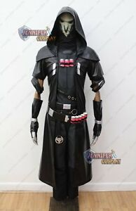 overwatch reaper cosplay costume with mask ebay