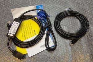 Dell-KVM-PS-2-siroter-Server-Interface-Pod-Kabel-Set-Neu-RF511-fg696