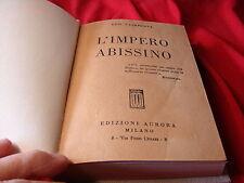 (Ugo Caimpenta) L'impero abissino 1935 Edizioni Aurora