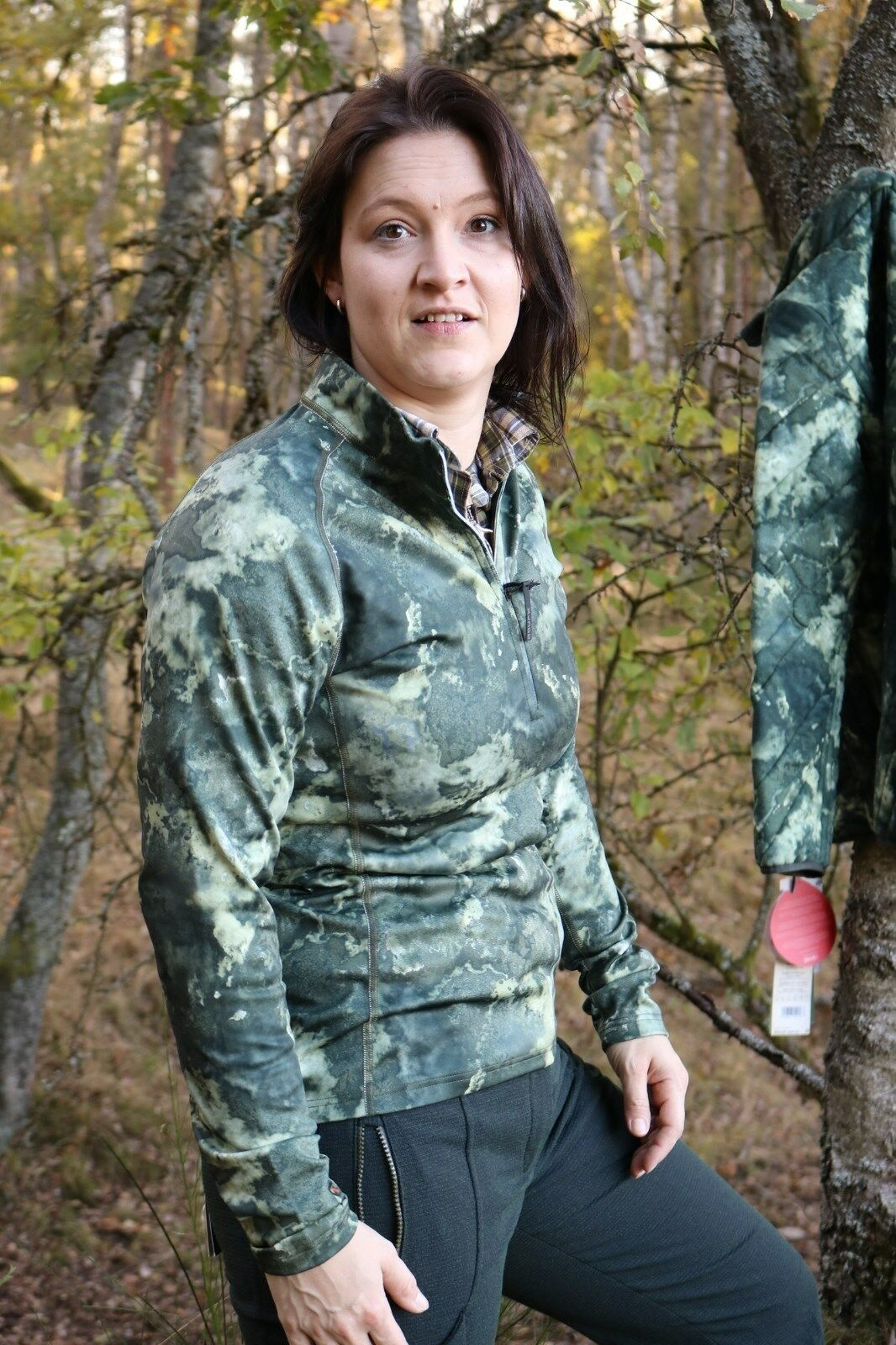 X-Jagd Second-Layer - Ladies Peigan - Mountain - with Stand up Collar