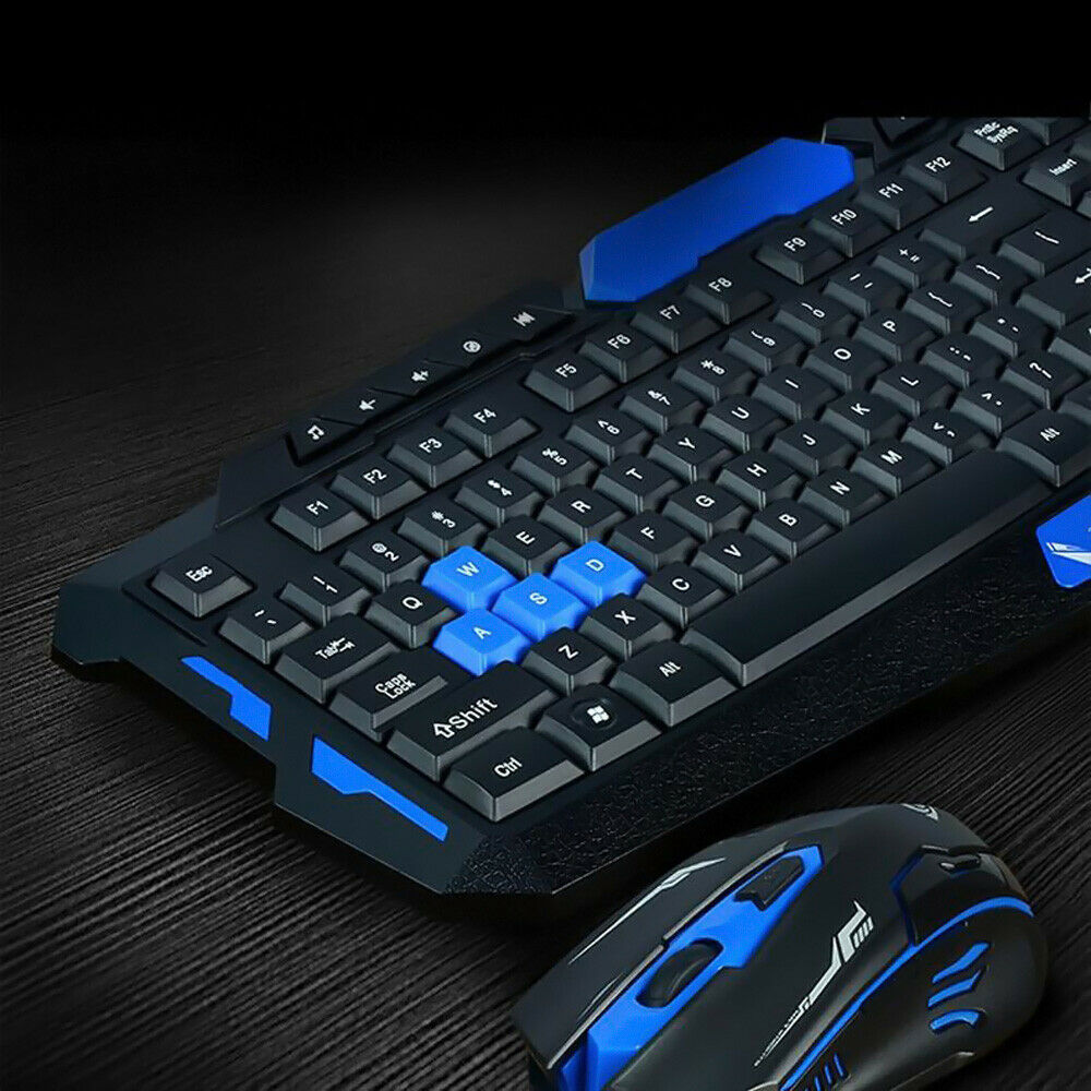 2.4G Gaming Multimedia Cordless Keyboard Wireless Optical Mouse Nano Receiver. Buy it now for 29.99