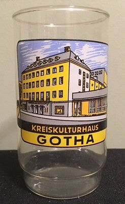 East Side Restaurant Gotha Bier German Beer Glass ...