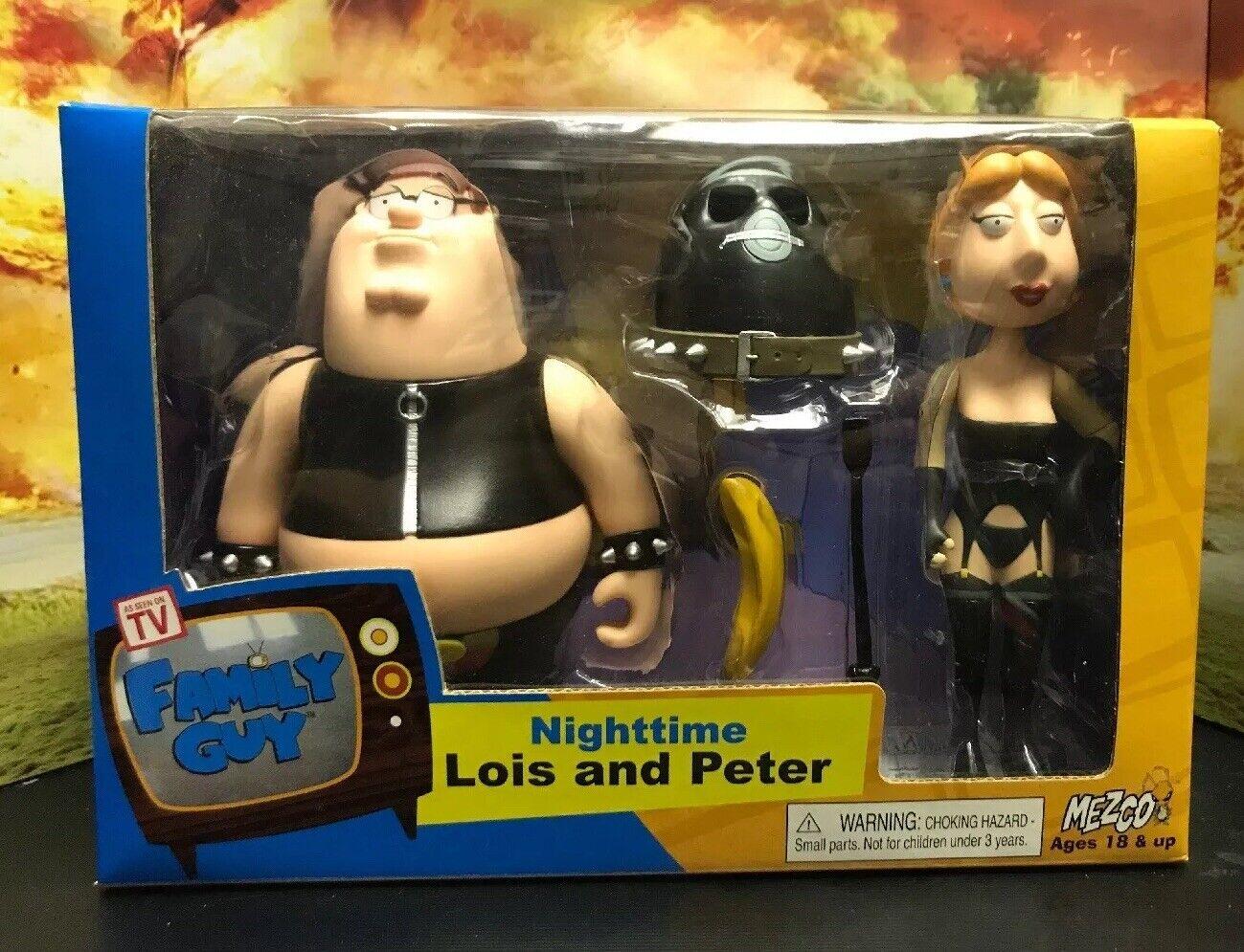 Das Familien Kerl Show Nighttime Lois und Peter Spielzeug Puppenfigur