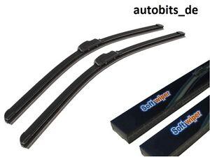 2 x Aero soft Flat NEUF ESSUIE-GLACES phrase 19/21 530mm & 475mm pour  </span>