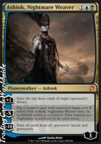 Ashiok, Nightmare Weaver Foil NM Theros engl. Magic Gathering