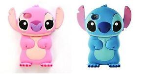 Housse-Etui-en-Gel-Silicone-Pour-Iphone-4-4S-Lilo-amp-Stitch