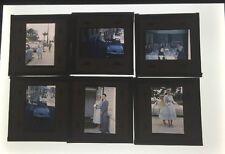 Lot Of 24 Vintage Color Slides 50's Wedding Photos