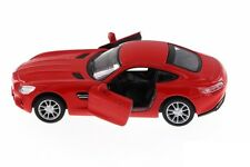 Kinsmart Scale Model Mercedes Benz-AMG GT Toy Car Model - Red