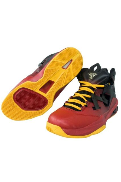 buy online 749b2 11bf6 New Nike Men s Air Jordan Melo M9 Blk Red 551879-028 Basketball Shoes Size