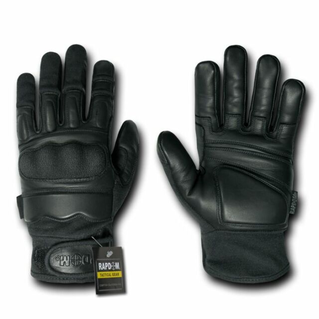 Rapid Dom Gloves Military Attacker Made With Kevlar Level 5 CQB Tactical Hatch