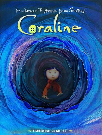 Coraline Dvd 2009 2 Disc Set Gift Set Includes Digital Copy With 3d Glasses For Sale Online Ebay
