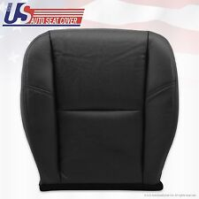 2007 - 2011 Cadillac Escalade Passenger Cooled Seat Bottom Leather Cover Black