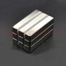 50mm X 10mm X 10mm Long Bar Strong Rare Earth Neodymium Block Magnets N50