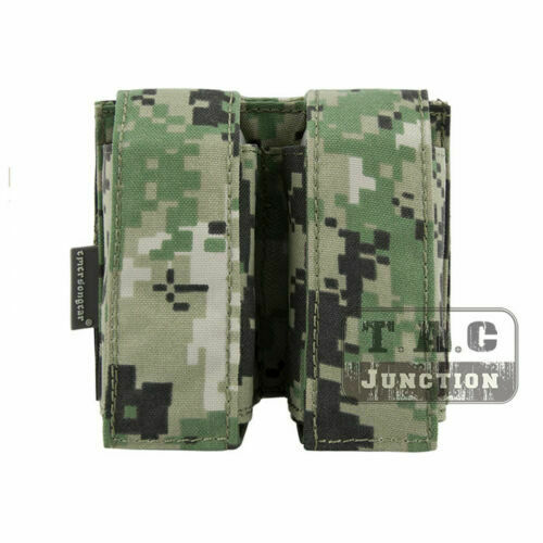 Emerson Tactical MOLLE Double Grenade 9mm .40 Pistol Magazine Pouch